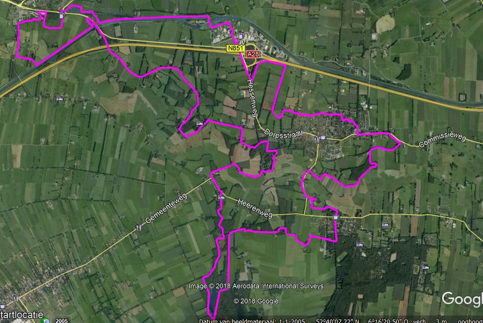 Route 30 kilometer