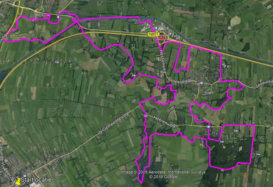 Route 40 kilometer
